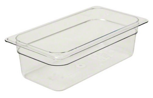 Third Size Polycarbonate Food Pan Clear 4