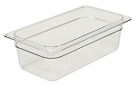 Third Size Polycarbonate Food Pan Clear 2