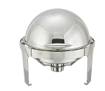 6 Qt. Round, Stainless Steel Madison Collection Chafer
