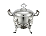 5 Qt. Round with Dome Cover Crown Collection Chafer