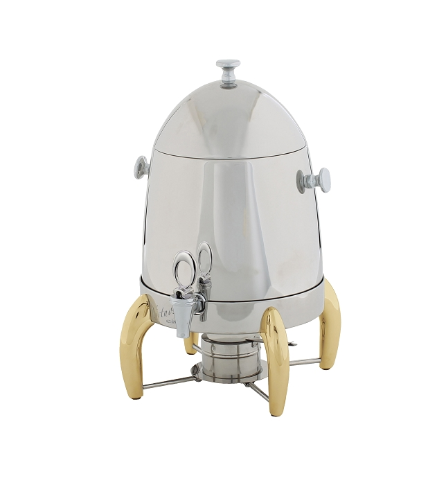3 Gallon with Gold Legs & Handle Virtuoso Coffee Urn