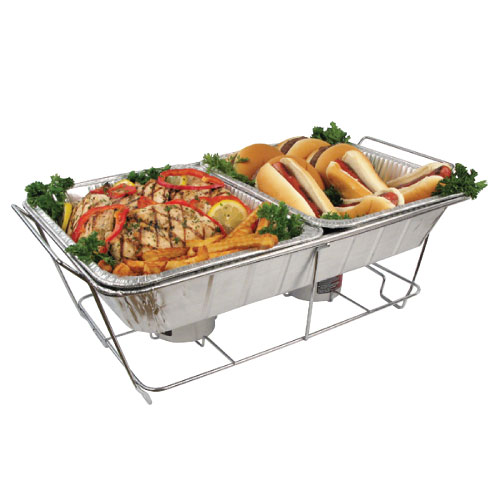 Winco C 2f Wire Chafer Stand For Aluminum Foil Trays