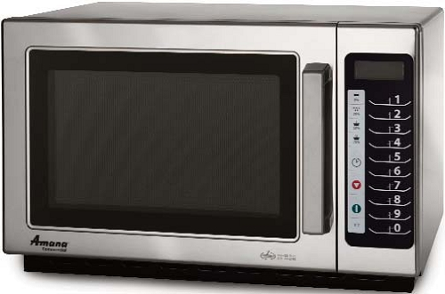 1000 watt 1.2 Cubic ft Commercial Microwave