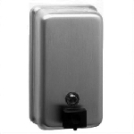 ClassicSeries  40-fl oz Stainless Surface Mounted Soap dispenser