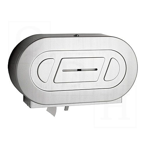 ClassicSeries Surface Mounted Twin Jumbo-Roll Toilet Tissue Dispenser