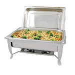 8 Qt. Full-Size Bellaire Chafer with Folding Frame