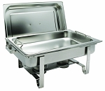 8 Qt. Full-Size Get-A-Grip Chafer with Handle Pan