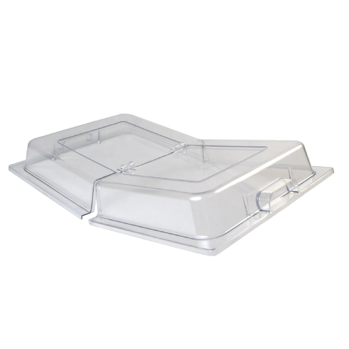 Dome Cover , Hinged Polycarbonate Fits Full Size pans