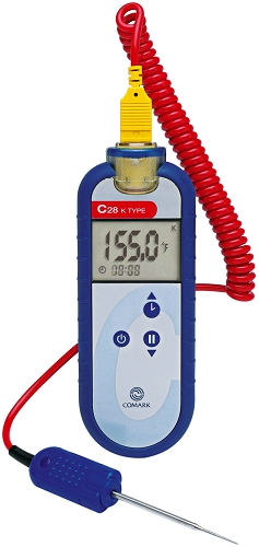 Thermometer - type K thermocouple with PK15M Probe