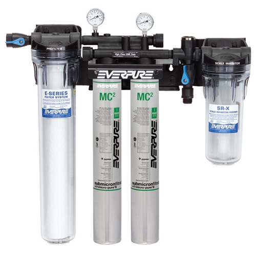 Everpure high flow csr twin mc combination system for Everpure water purification system