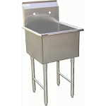 One Tub Stainless Mop Sink 18