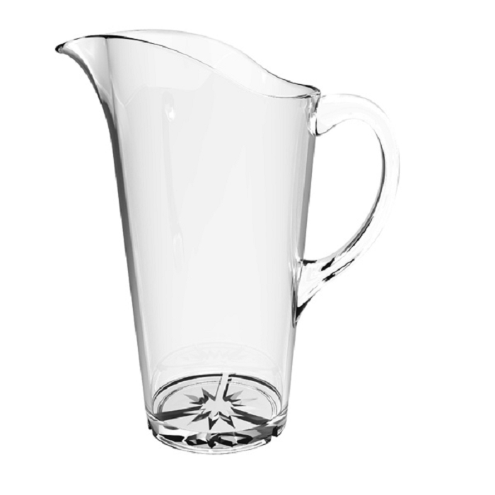 2 Liter / 68 Ounce Water Pitcher Polycarbonate