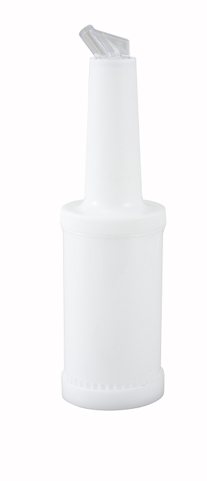 1 Quart Liquor & Juice Multi Pourer White