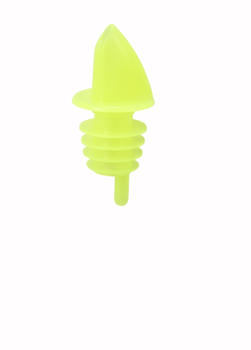 Economy Free Flow Liquor Pourer Yellow (dz)