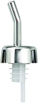 Whiskey Free Flow Pourer Chrome (dz)