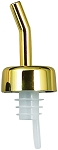 Whiskey Free Flow Pourer Golden (dz)