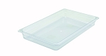Full Size Polycarbonate Food Pan Clear 2-1/2