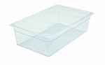Full Size Polycarbonate Food Pan Clear 6