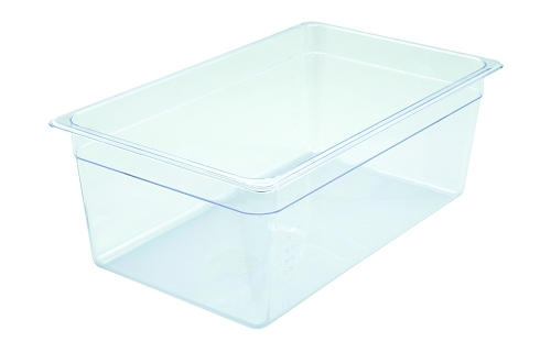 Full Size Polycarbonate Food Pan Clear 8