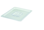 Half Size Polycarbonate Food Pan Cover Solid