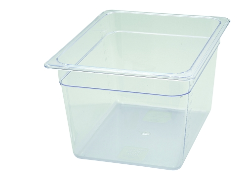 Half Size Polycarbonate Food Pan Clear 8