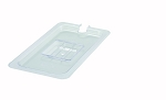 Third Size Polycarbonate Food Pan Cover Slotted