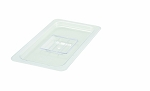 Third Size Polycarbonate Food Pan Cover Solid