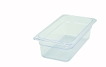 Third Size ( 1/3 ) Polycarbonate Food Pan Clear 4