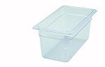 Third Size ( 1/3 ) Polycarbonate Food Pan Clear 6