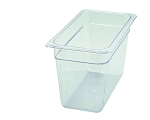 Third Size ( 1/3 ) Polycarbonate Food Pan Clear 8