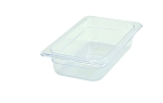 Fourth Size ( 1/4 ) Polycarbonate Food Pan Clear 2-1/2