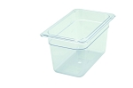 Fourth Size ( 1/4 ) Polycarbonate Food Pan Clear 6