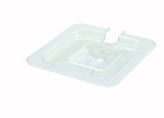 Sixth (1/6) Size Polycarbonate Food Pan Cover Slotted