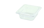 Sixth Size ( 1/6 ) Polycarbonate Food Pan Clear 2-1/2