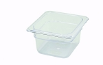 Sixth Size ( 1/6 ) Polycarbonate Food Pan Clear 4