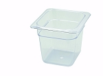 Sixth Size ( 1/6 ) Polycarbonate Food Pan Clear 6