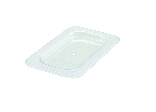 Ninth (1/9) Size Polycarbonate Food Pan Cover Solid