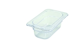 Ninth Size ( 1/9 ) Polycarbonate Food Pan Clear 2-1/2