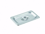 1/9 size Stainless Steam Table Pan Cover Slotted