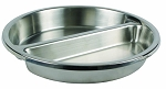 Round Divided Food Pan for 103A, 103B, 308A, and 602