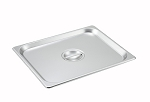 Half size Stainless Steam Table Pan Cover Solid