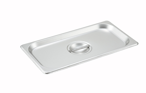 Third size Stainless Steam Table Pan Cover Solid