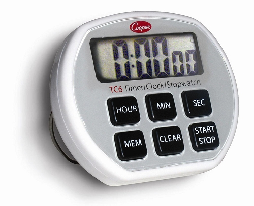 6 Button Electronic Timer/Clock/Stopwatch