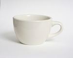 7 oz Round Cup in American White