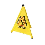 Caution Sign With Four Facets CSF-4