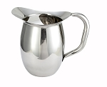 2 Quart Stainless Bell Pitcher w/ Ice guard