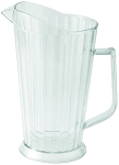 60 Ounce Clear Beer / Water Pitcher Polycarbonate