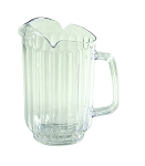 60 ounce 3 Spout Water Pitcher Polycarbonate Clear