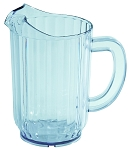 60 Ounce Clear Water Pitcher San Plastic 4 Pack