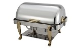 8 Qt. Full-Size, Gold Accent Vintage Line Chafer